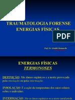 ENERGIAS DE ORDEM FÍSICA