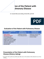 Evaluation of the Patient with Pulmonary Disease