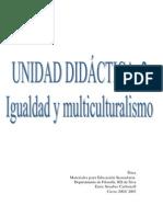 igualdad y multiculturalismo