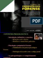 SLIDES PSICOPATOLOGIA FORENSE - CURSO