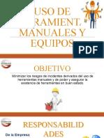 8. Uso de Herramientas Manuales y Equipos.pptx