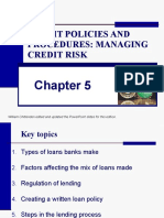 CHAP_5_Lending Policies and Procedures - managing credit risk.ppt