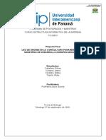 Proyecto final- Uso de drones en la agricultura panameña - GRUPO D