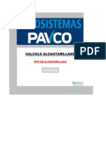 Alcantarillado PAVCO-RAS 2000 Tablas Ks (C-W)