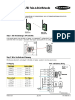 DX80G9M6S-PB2 Quick Start Guide for -PB2 Point-to-Point Networks 164886