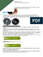 Significado das siglas e números de lentes de câmeras