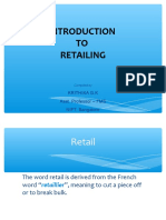 Introduction to Retail Session 1