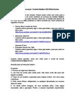 Roteiro de Gravação Cantata Natalina Erida Duraes 2020 Fundamental 2