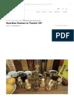 Guardian Statues in Taoism 101 - Tin Yat Dragon.pdf