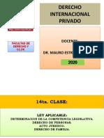 Ley Aplicable - Determinación de La Competencia Legislativa - Derecho de Personas - Acto Juridico - Derecho de Familia
