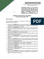 Quinto Texto Sustitutorio Bicameralidad, 01.12.2020