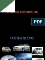 Zf Steering Gear (India) Ltd