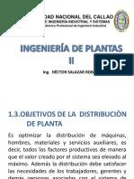 Objetivos de Distribuciòn de Plantas