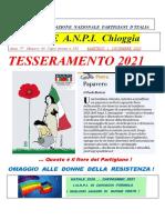 Notiziario ANPI Chioggia numero 63