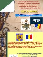 SEMNIFICAȚIA ZILEI DE 1 decembrie