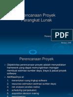 Perencana & Estimasi Proyek