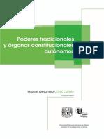 Poderes Tradicionales y Organos Constitucionales Autonomos