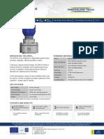 BP010 Datasheet for pressure regulator