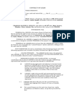 CONTRACT OF LEASE 1A Contract