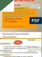 FISTULAS UROGENITALES
