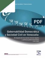 2009 Gobernabilidad Democrática y Sociedad Civil en Venezuela