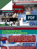 unidad 7  seguridad social y desempleo