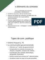 bases de la communication publique