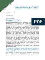 DONES PADRE HIJO Y ESPIRITU SANTO Romanos 12