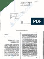 LEVI STRAUSS C 1984 La estructura de los mitos En Antropologia Estructural