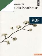 Le Sens du Bonheur - Jiddu Krishnamurti-PDFConverted