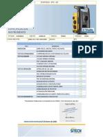 Certificado de verificacion GPS TRIMBLE SPS986 5828F00026