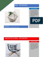 ARCHITECTURAL INTERIOR(1)
