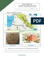 A.2 - Teste Diagnóstico - Contributo das primeiras civilizações (3)
