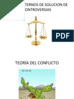MEDIOS ALTERNOS DE SOLUCION DE CONTROVERSIAS-TEORIA DEL CONFLICTO