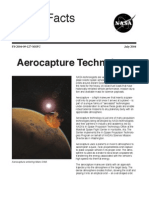 NASA Facts Aerocapture Technology 2004