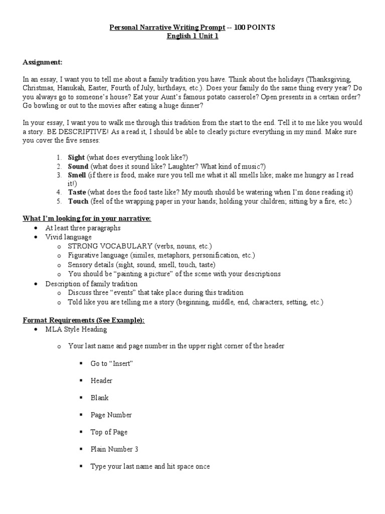 example of narrative essay about family Middle school narrative essay example and outline free essay template free essay examples, essay formats, writing tools and writing tips.