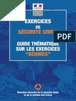 Guide exercice séisme