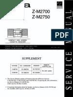 AIWA   Z-M2700, Z-M2750, CX-ZM2700