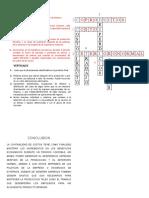 CRUCIGRAMA CONTABILIDAD DE COSTOS