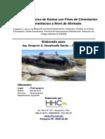 ESTUDIO DESUELOS CON FINES DE PAVIMENTACION A NIVEL AFIRMADO DESVIO KM. 34+200 A PACHAPUPUM SACSAMARCA-final