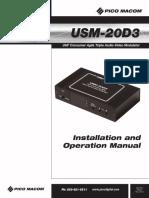 USM-20D3-instr