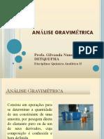 ANÁLISE GRAVIMÉTRICA-1