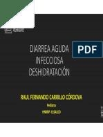 2da Clase Pediatria II UC DAI DESHIDRATACION