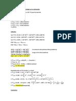 Ejemplo Aplicativo de La Entalpia en La Calcinación