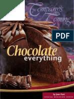 Chocolate everything Jane Pare