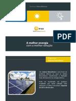 Apresentação em PowerPoint Energia Solar Fotovoltaica
