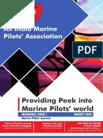 AIMPA- Marine Pilots' Journal - August 2020 Year 1- Issue 1