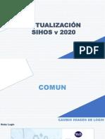 Actualiza Asistencial SIHOS 2020