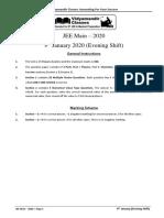 JEE+Main+2020+_+9+January+_+Evening+(Paper).pdf