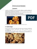 Artistas del Ecuador